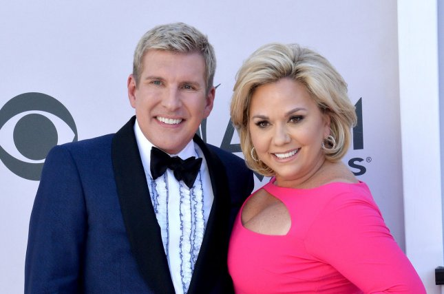 Todd Chrisley (L) and his wife Julie Chrisley will return for a ninth season of Chrisley Knows Best. File Photo by Jim Ruymen/UPI