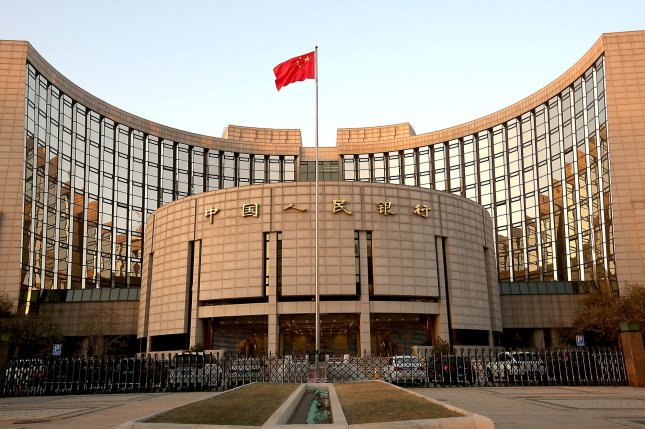 China's central bank ordered financial institutions to step up restrictions against virtual currencies Monday. File Photo by Stephen Shaver/UPI