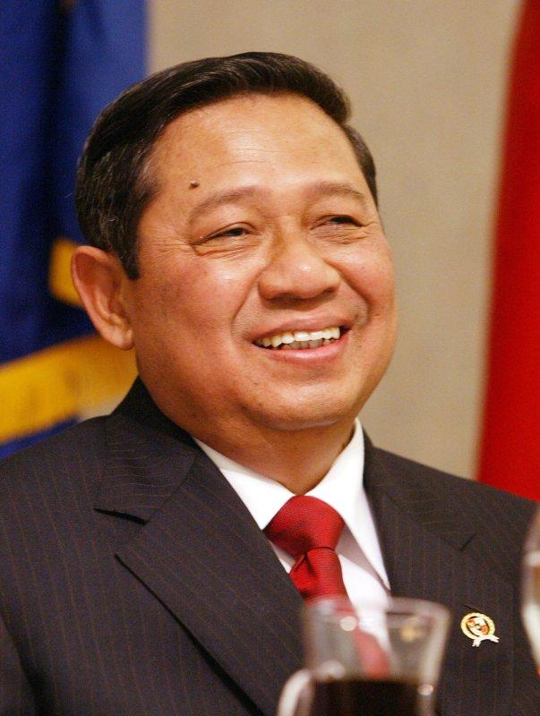 Susilo Bambang Yudhoyono, President of the Republic of Indonesia, seen on this September 12, 2005 file photo. (UPI Photo/Bill Greenblatt)