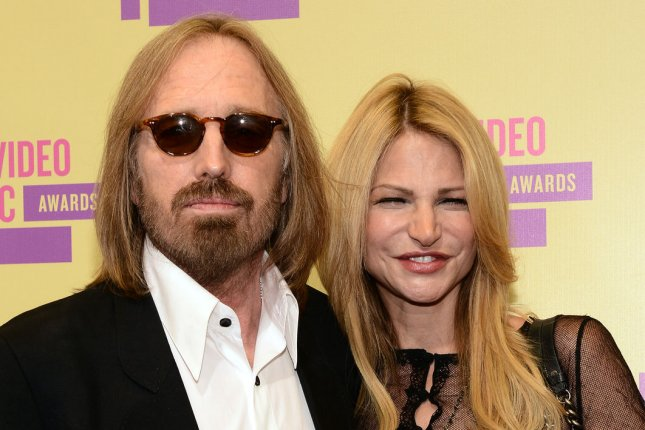 Tom Petty and his wife Dana. Photo by Jim Ruymen/UPI