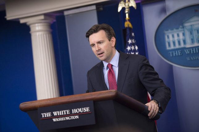 White House Press Secretary Josh Earnest said Thursday that North Korea policy prevails despite earlier comments from the U.S. director of national intelligence regarding policy. File Photo by Kevin Dietsch/UPI