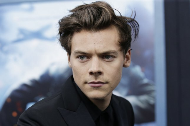 Harry Styles arrives on the red carpet at the 'DUNKIRK' New York premiere on July 18. Photo by John Angelillo/UPI