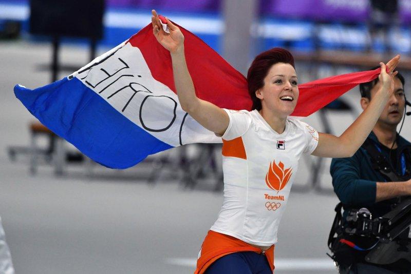 Speedskater Jorien ter Mors breaks Olympic record for gold