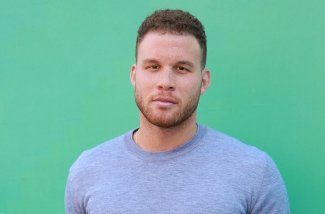 Blake Griffin arrives on the red carpet at the Hulu 2018 Upfront presentation on May 2 in New York City. Photo by Serena Xu-Ning/UPI