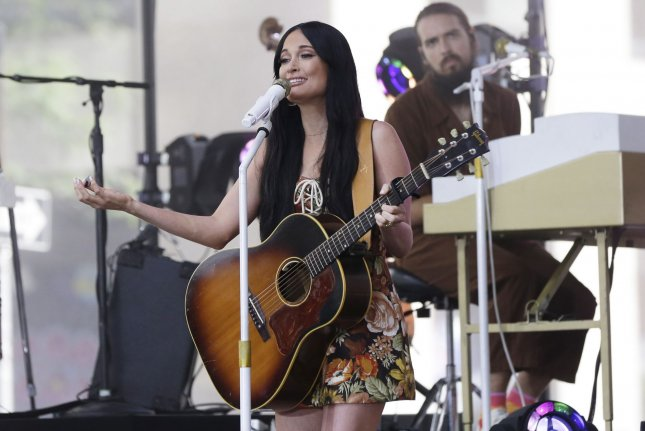 Kacey Musgraves performs on Today on Friday. Photo by John Angelillo/UPI