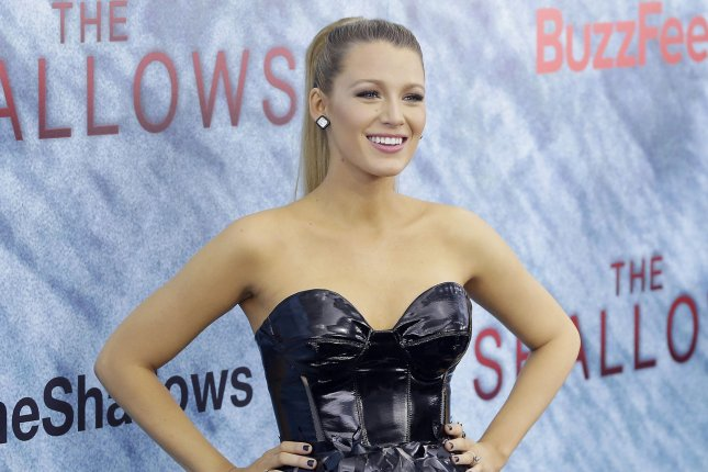 Blake Lively at the New York premiere of The Shallows on June 21. The actress played Serena van der Woodsen on Gossip Girl. File Photo by John Angelillo/UPI