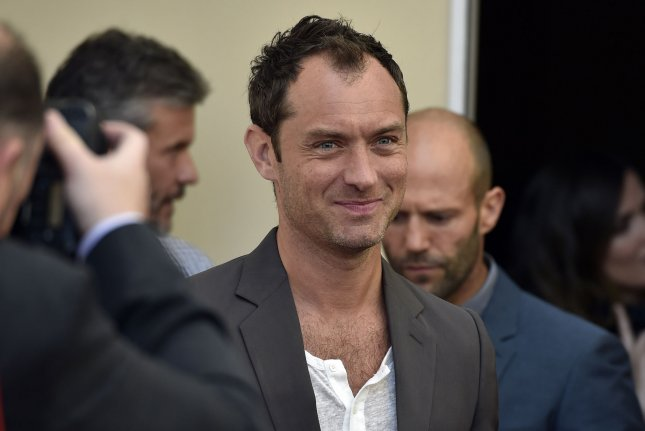 Jude Law at the 20th Century Fox presentation at CinemaCon on April 23, 2015. File Photo by David Becker/UPI