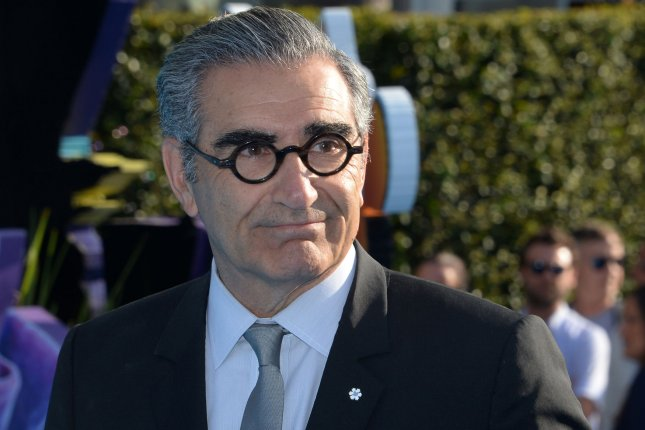 Schitt's Creek co-creator and star Eugene Levy. The comedy has been renewed for its sixth and final season. File Photo by Jim Ruymen/UPI