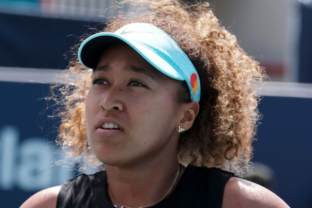 Naomi Osaka, who took a break from tennis to address her mental health, is the first Black athlete in history to be on the cover of the Sports Illustrated Swimsuit issue. File Photo by Gary I Rothstein/UPI