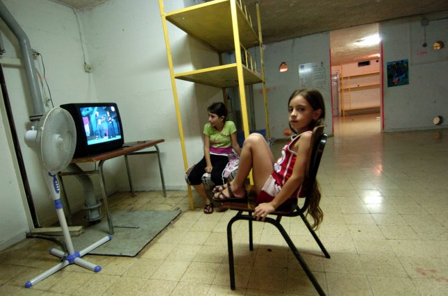 More than 12,000 U.S. children injured by TVs tipping over them. (UPI Photo/Debbie Hill)