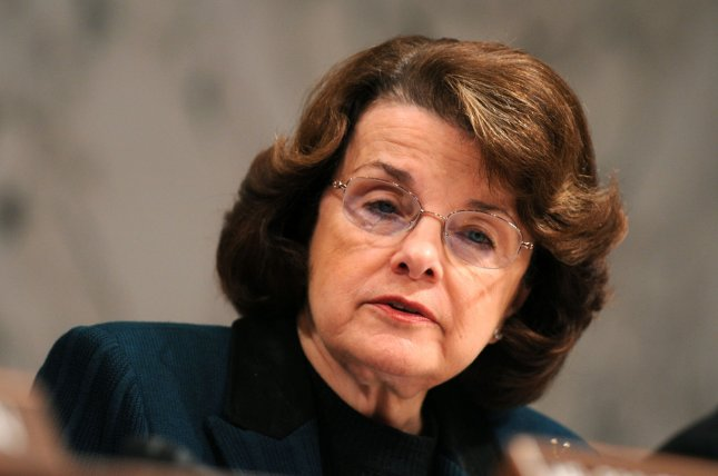 Sen. Dianne Feinstein (D-CA) chairwoman of the Senate Intelligence Committee presides over the confirmation hearing for Director of National Intelligence nominee Dennis Blair in Washington on January 22, 2009. (UPI Photo/Kevin Dietsch)