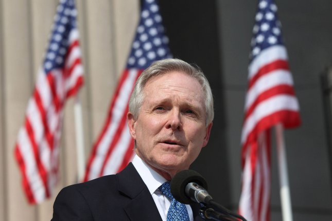 Secretary of the Navy Ray Mabus said women in the Navy and Marine Corps are now eligible to take 18 weeks of maternity leave, up from six weeks. File photo by Bill Greenblatt/UPI