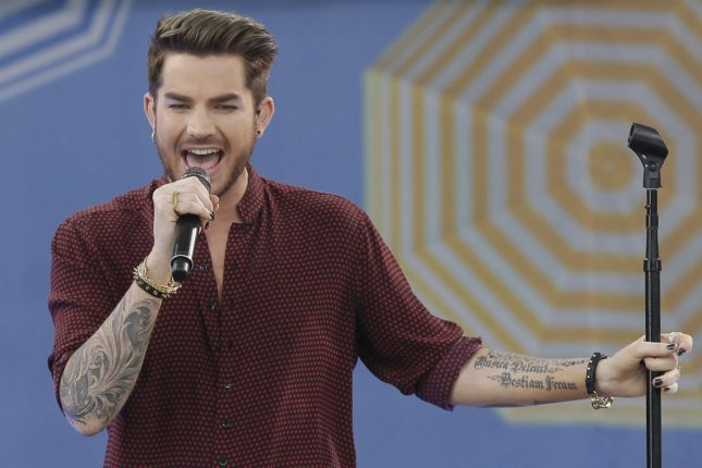 Adam Lambert performs on Good Morning America at the Rumsey Playfield/SummerStage in Central Park in New York City on June 19, 2015. Lambert has released a new music video for his song Welcome to the Show. File Photo by John Angelillo/UPI