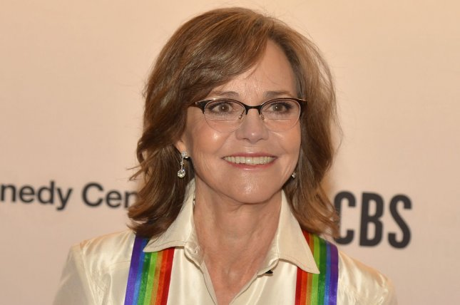 Oscar and Emmy Award-winning actress Sally Field, a 2019 Kennedy Center Honoree, was arrested at a climate-change protest Friday in Washington, D.C. Photo by Mike Theiler/UPI