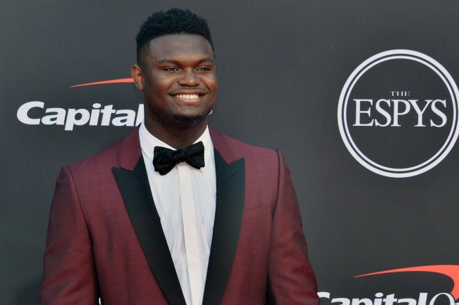 Zion Williamson averaged 23.3 points and 6.5 rebounds per game during the NBA preseason. File photo by Jim Ruymen/UPI