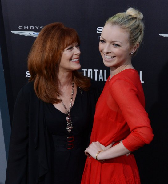 Actress Frances Fisher and her daughter Francesca Eastwood attend the premiere of the motion picture sci-fi thriller Total Recall, at Grauman's Chinese Theatre in the Hollywood section of Los Angeles on August 1, 2012. UPI/Jim Ruymen