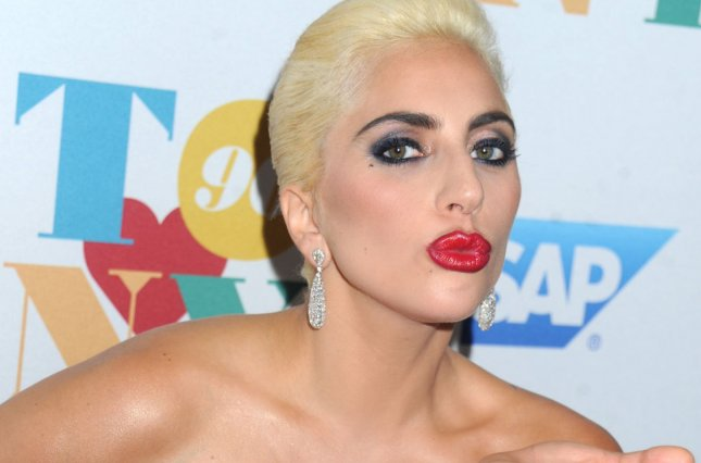 Lady Gaga at The Rainbow Room on August 3, 2016 in New York City. She is to play the female lead in the re-make of A Star is Born. File Photo by Dennis Van Tine/UPI