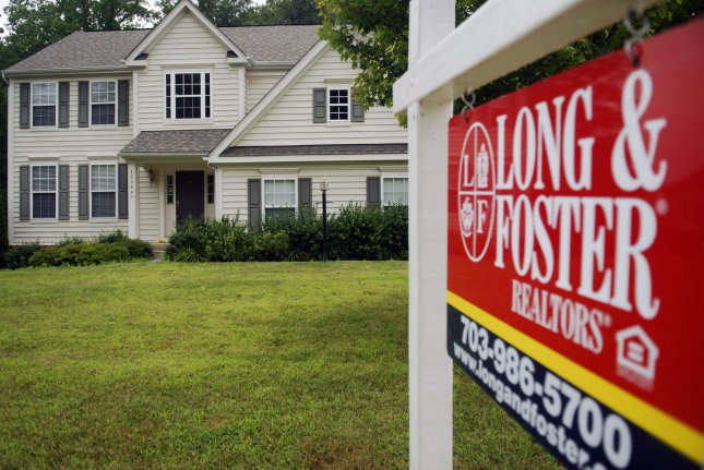 Also Thursday, data showed U.S. mortgage delinquencies increased by 1.6 million in April, the largest ever recorded in a single month. File Photo by Alexis C. Glenn/UPI