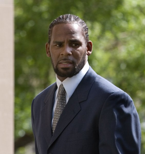R. Kelly faces up to life in prison on sex trafficking and racketeering convictions. File Photo by Brian Kersey/UPI