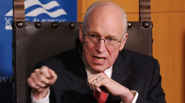 Former Vice President Dick Cheney is pictured at an event in Santa Barbara, Calif., Feb. 5, 2011. UPI/Jim Ruymen