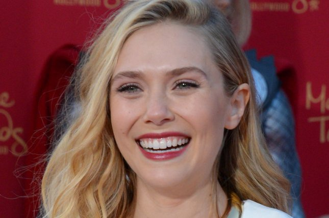 Elizabeth Olsen at the Los Angeles premiere of 'Avengers: Age of Ultron' on April 13, 2015. Photo by Jim Ruymen/UPI