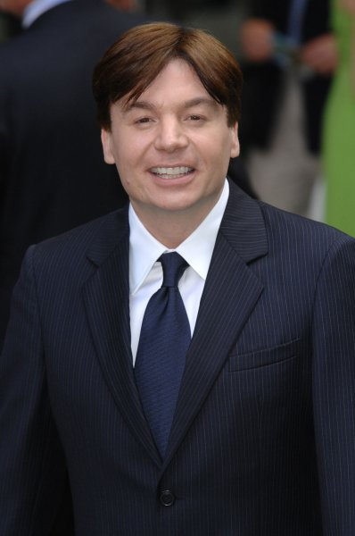 American actor Mike Myers attends the premiere of Shrek The Third at Odeon, Leicester Square in London on June 11, 2007. (UPI Photo/Rune Hellestad)