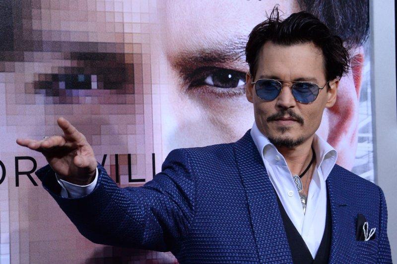 Johnny Depp. UPI/Jim Ruymen