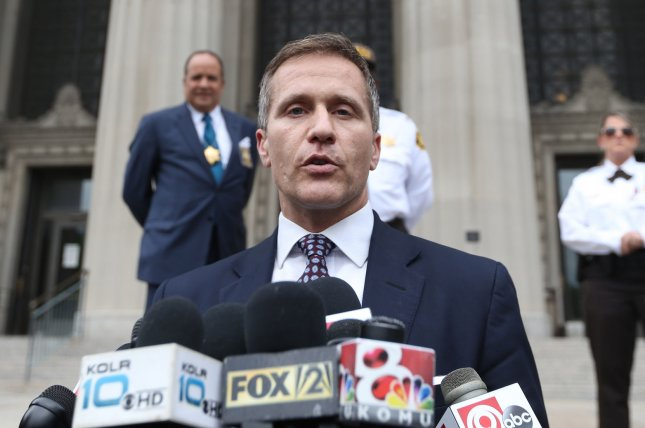 A special prosecutor has been appointed to look into accusations of invasion of privacy involving Missouri Gov. Eric Greitens. File Photo by Bill Greenblatt/UPI