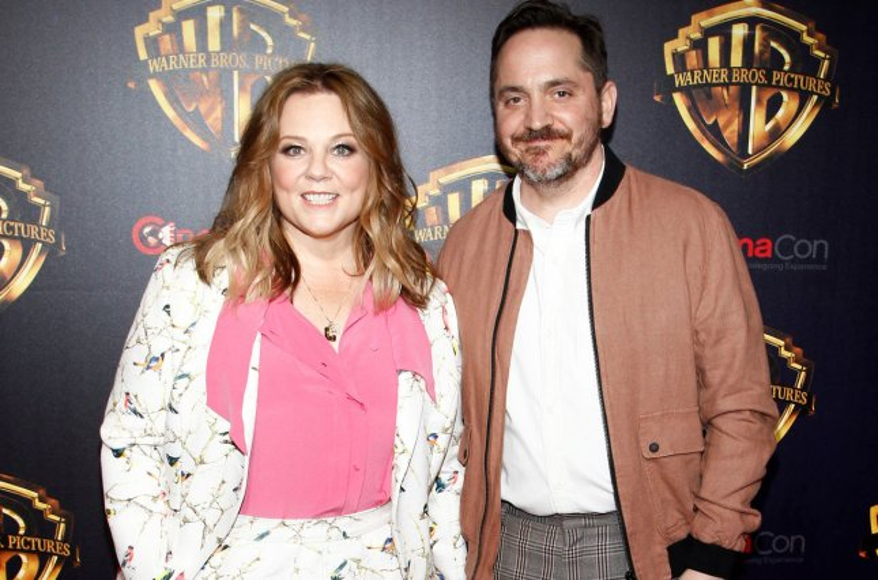 Melissa McCarthy, James Corden filming 'Superintelligence' in