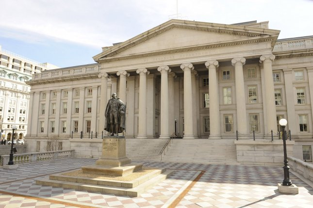 The U.S. Treasury said the federal deficit should increase beyond the $1 trillion mark by the end of fiscal 2019. File Photo by Roger L. Wollenberg/UPI