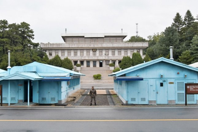 North Korea reopened a military hotline but disclosed the news only on specific channels. File Photo by Keizo Mori/UPI