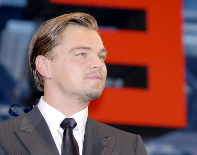 Actor Leonardo DiCaprio attends a Japan premiere for the film Inception in Tokyo, Japan, on July 20, 2010. UPI/Keizo Mori