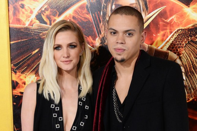 Ashlee Simpson and her husband, actor Evan Ross are expecting their first child, a girl. File photo by Jim Ruymen/UPI