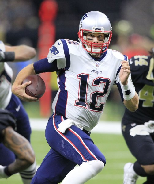 Tom Brady and the New England Patriots square off with the Houston Texans. Photo by AJ Sisco/UPI