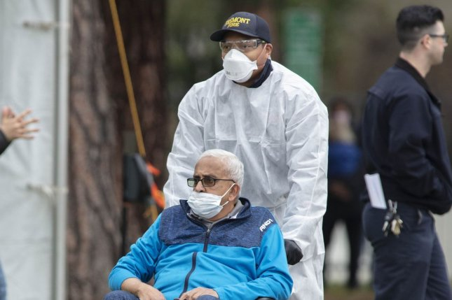 Older adults have other health needs that may be compounded by social distancing to protect them from the virus, experts say. File Photo by Peter DaSilva/UPI