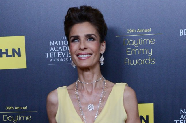 Kristian Alfonso, who plays Hope Williams Brady on Days of Our Lives, won't return to the soap opera when it resumes filming Sept. 1. File Photo by Jim Ruymen/UPI