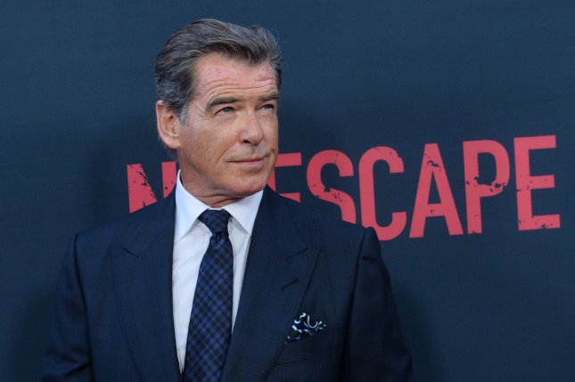 Pierce Brosnan attends the Los Angeles premiere of No Escape on August 17. File Photo by Jim Ruymen/UPI