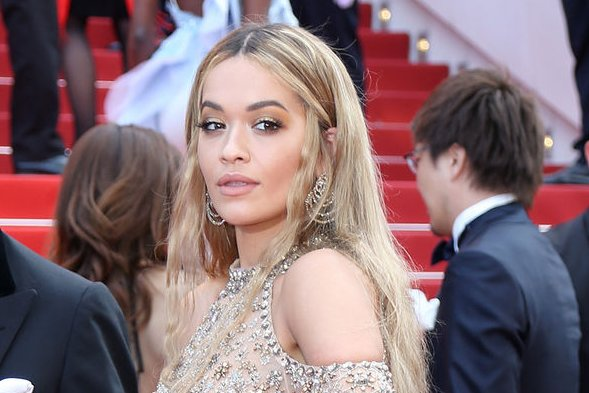 Rita Ora attends the Cannes International Film Festival on May 23. File Photo by David Silpa/UPI