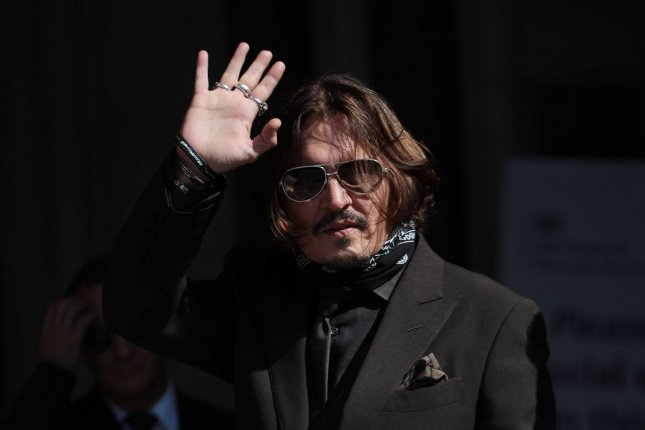 Johnny Depp was asked to resign from Fantastic Beasts after losing his libel case against The Sun. File Photo by Hugo Philpott/UPI