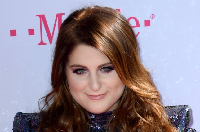 Singer Meghan Trainor attends the annual Billboard Music Awards at the T-Mobile Arena in Las Vegas, Nev., on May 22, 2016. Trainor said she's been brushing up on the presidential election and is ready to vote. File photo by Jim Ruymen/UPI