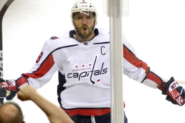 231d9c4c5 Washington Capitals left wing Alex Ovechkin (8) celebrates his game-winning  goal against the Pittsburgh Penguins in the third period of the Capitals  4-3 ...