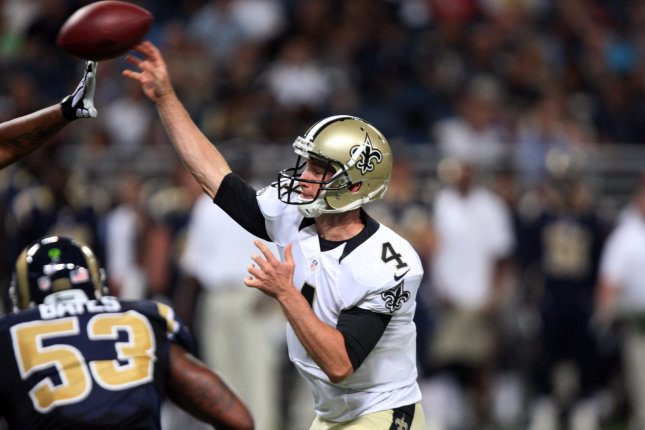Former New Orleans Saints quarterback Ryan Griffin. File photo by Bill Greenblatt/UPI