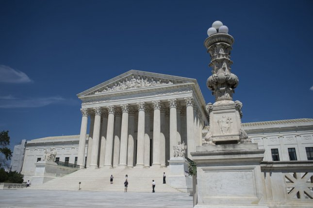 The U.S. Supreme Court blocked a request by Republicans to block Montana Gov. Steve Bullock's order allowing counties to send mail-in ballots in response to the COVID-19 pandemic. File Photo by Pete Marovich/UPI