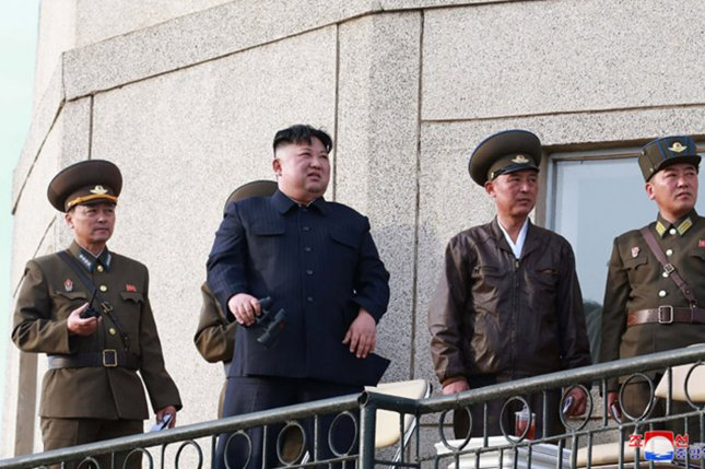 North Korean leader Kim Jong Un's order to demolish South Korean buildings at Mount Kumgang could be being carried out in the North, according to state media Sunday. File Photo by KCNA/UPI