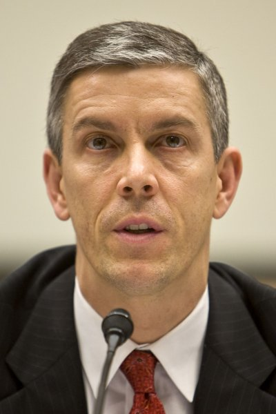Education Secretary Arne Duncan, shown March 17, 2010 in Washington.UPI/Madeline Marshall