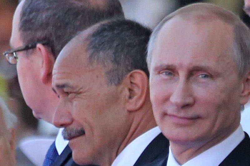 Russian President Vladimir Putin on June 6, 2014. (UPI/David Silpa)
