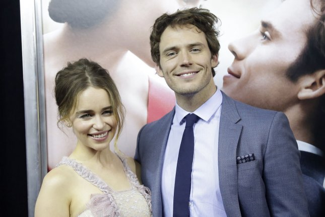 Sam Claflin and Emilia Clarke arrive on the red carpet at the Me Before You world premiere on May 23, 2016 in New York City. Photo by John Angelillo/UPI