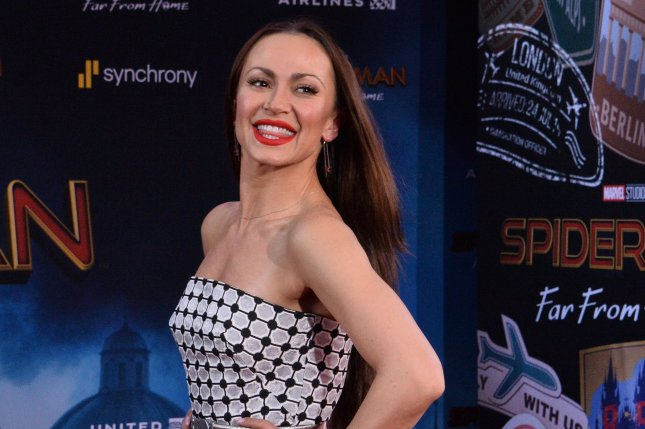 Dancer Karina Smirnoff attends the premiere of the sci-fi motion picture Spider-Man: Far From Home at the TCL Chinese Theatre in the Hollywood section of Los Angeles on Wednesday, June 26, 2019. Storyline: Following the events of Avengers: Endgame, Spider-Man must step up to take on new threats in a world that has changed forever. Photo by Jim Ruymen/UPI