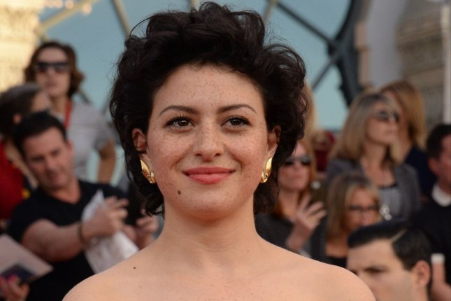 Search Party star Alia Shawkat arrives for the the 23rd annual SAG Awards on January 2017. WarnerMedia and iHeartMedia will produce podcasts based on HBO Max shows like Search Party. File Photo by Jim Ruymen/UPI