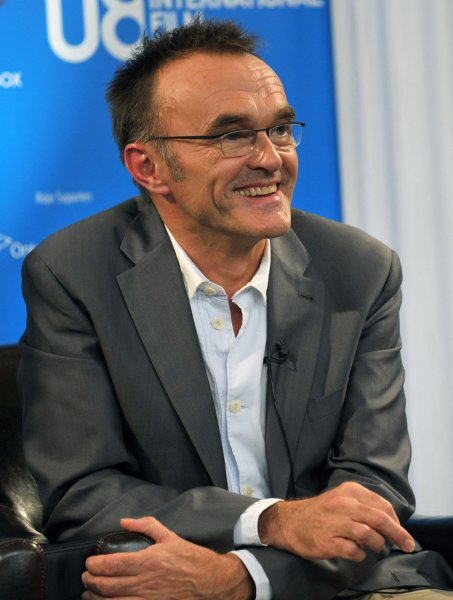 Director Danny Boyle attends the Toronto International Film Festival press conference for Slumdog Millionaire at the Sutton Place Hotel in Toronto, Canada on September 8, 2008. (UPI Photo/Christine Chew)